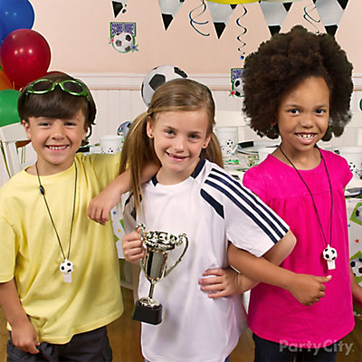 Soccer Birthday Jersey Idea
