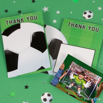 Soccer Thank You Note Idea