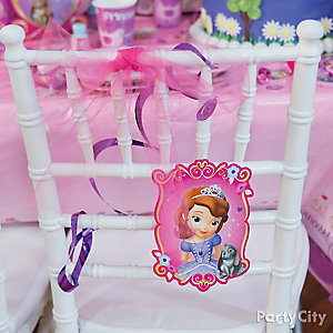 Sofia the First Chair Deco DIY
