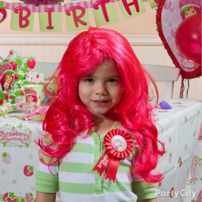 Strawberry Shortcake Birthday Outfit Idea