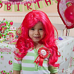 Strawberry Shortcake Birthday Outfit Idea