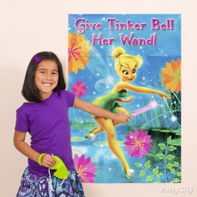 Tinker Bell Pin It Game Idea