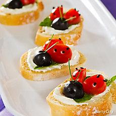 Tinker Bell Ladybug Toasts Idea