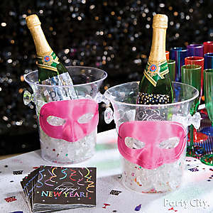 NYE Ice Buckets Idea