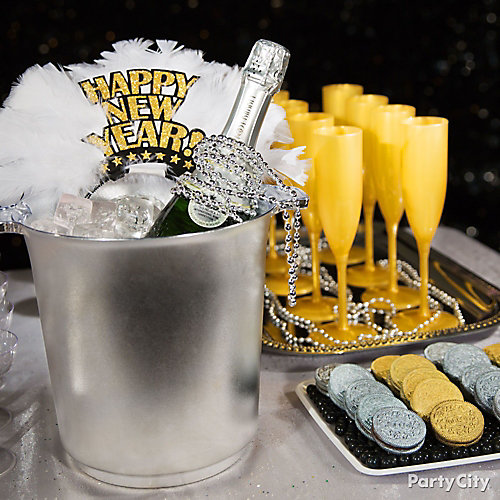 NYE Champagne Bucket Idea