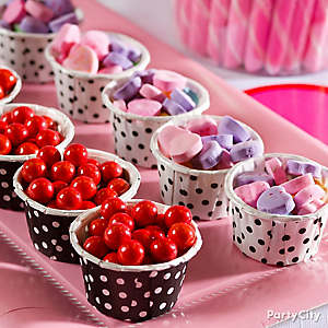 Valentine's Day Candy Cups Idea