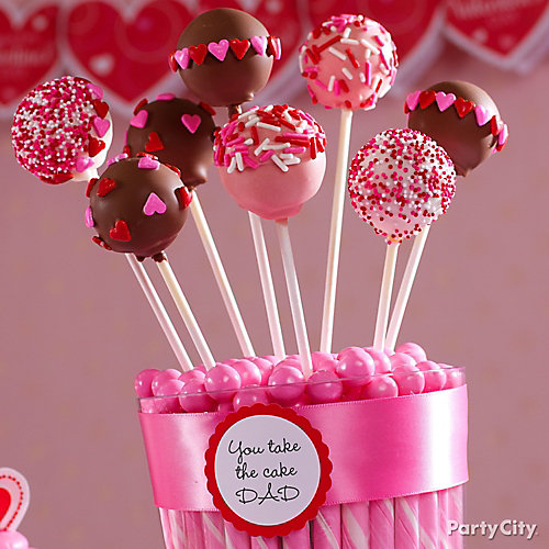 Schön Valentines Day Cake Pops Idea