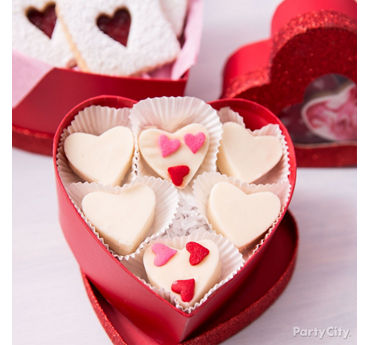 DIY Valentines Day Candy Heart Boxes Idea