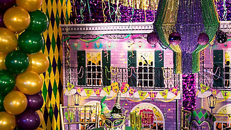 Mardi Gras Decorating Ideas