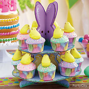 Peeps Chick Pastel Cupcakes How To