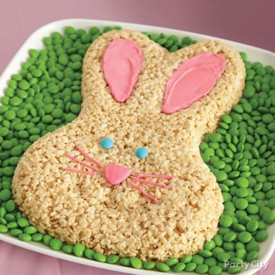 Cereal Bunny Cake How To