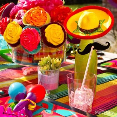 Mexican Party Soda Bottles Idea & mexican table setting u2013 Loris Decoration