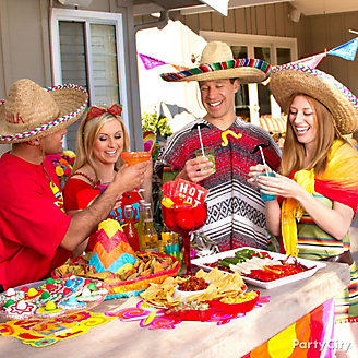 Cinco de Mayo Snack Table Idea