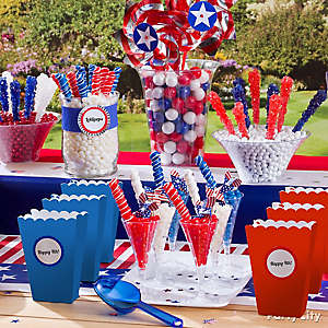 4th of July Candy Buffet Idea