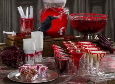 bloody good drink ideas raise spirits with our scary good halloween recipes for cocktails - Halloween Decorations For A Party