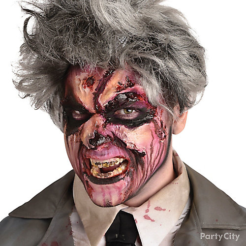Gory Zombie Makeup How To