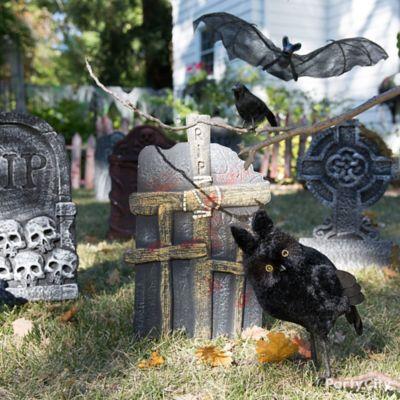 Halloween Tombstones & Flying Critters Idea