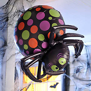 Halloween Balloon Spider Friend Idea