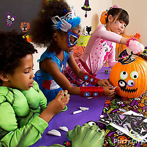 Halloween Class Pumpkin Decorating Idea