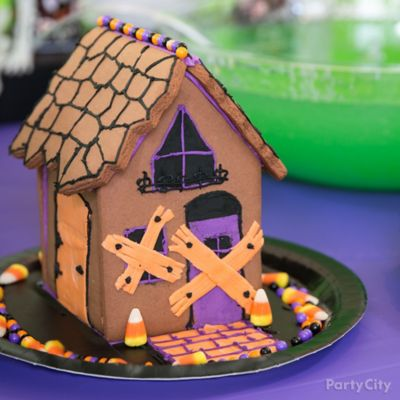 Kid-Friendly Witch Cookie House Idea
