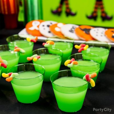 Kid-Friendly Swamp Juice Drink Idea