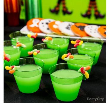 Kid Friendly Swamp Juice Drink Idea