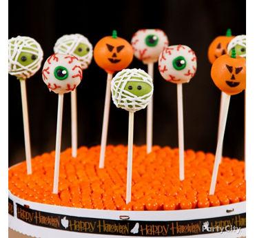 Friendly Monster Halloween Cake Pops
