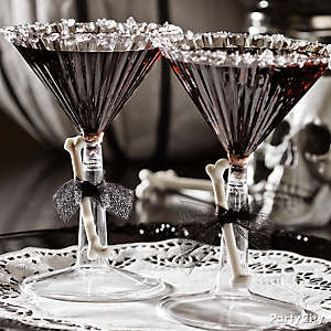 Halloween Black Martini Cocktail Recipe