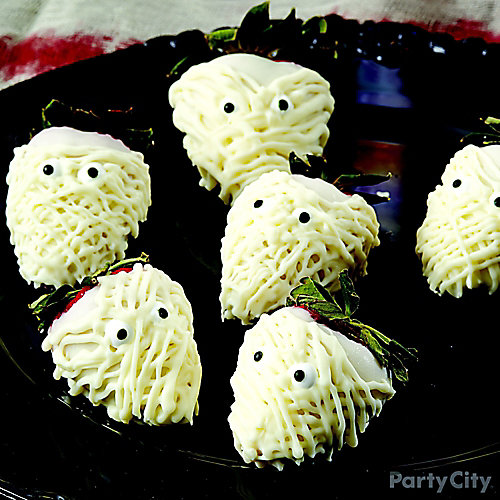 Scary Mummy Strawberries How To