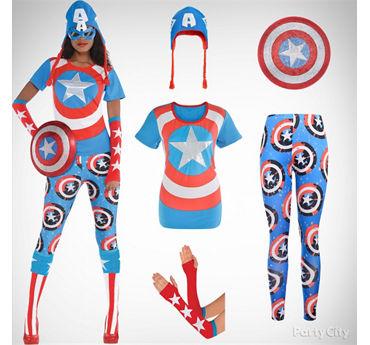 Women's American Dream Costume Idea