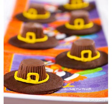 Pilgrim Hat Cookie Idea