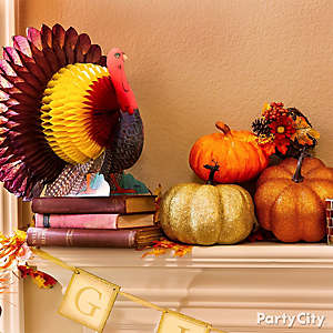 Gobble Gobble Mantel Idea