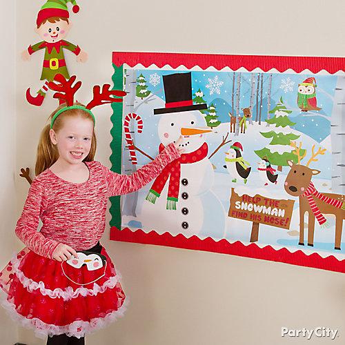 Christmas Class Pin It Game Idea