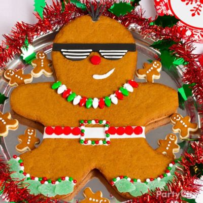 Punk Gingerbread Man Decorating Idea