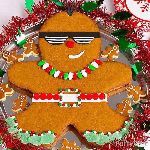 Punk Gingerbread Man Decorating Idea