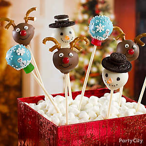 Snowman Cake Pops How To