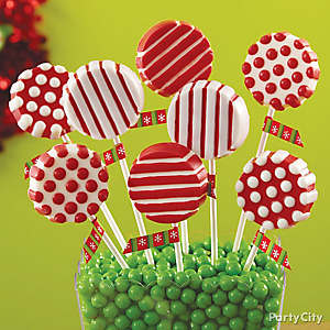 Christmas Cookie Candy Pops How To