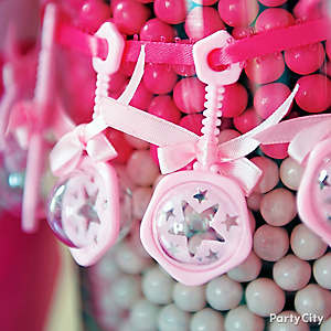 Baby Shower Charms Accents Idea, Baby Shower Candy Buffet ...