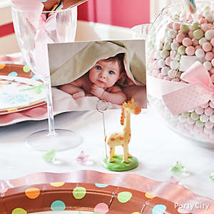 Jungle Theme Baby Shower Place Cards Idea