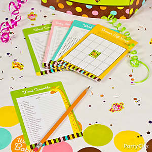 Jungle Theme Baby Shower Game Ideas