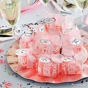Baby Shower Favor Boxes Idea