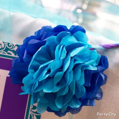 DIY Tissue Paper Flowers How To