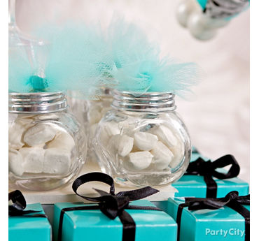 DIY Decorated Candy Jars Idea