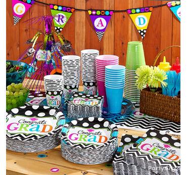 Grad Buffet Tableware Idea