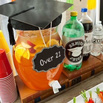 Graduation Over 21 Rum Punch Idea