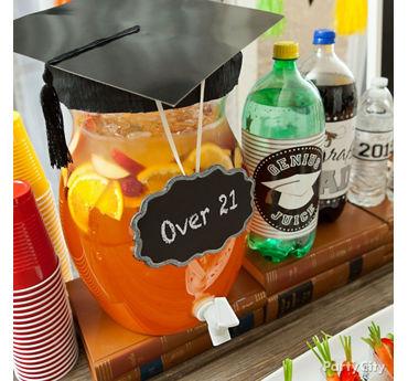Graduation Over 21 Rum Punch Idea