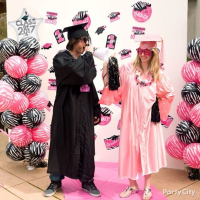 Commencement Pink Carpet Photo Op Idea
