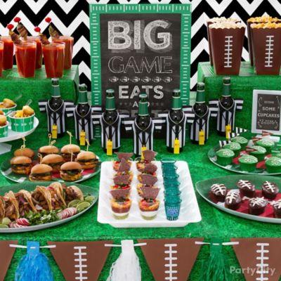 Football Food Table Idea