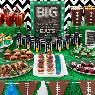 Football Food Table Idea