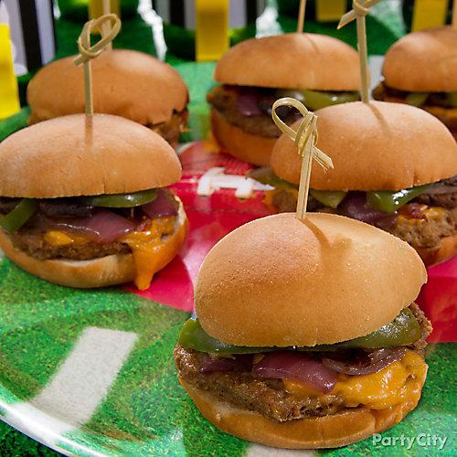 Mini Burgers Idea